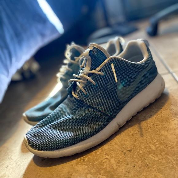 Nike Shoes | Roshe Runs Baby Blue